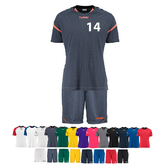 14ER SET AUTHENTIC CHARGE TRIKOT + HOSE KINDER INKL. DRUCK UND BALL