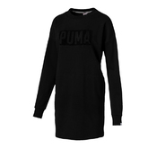 FUSION CREW SWEAT DRESS W