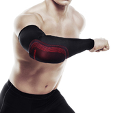 Rx Contact Arm Sleeve, Black/Red, L/XL