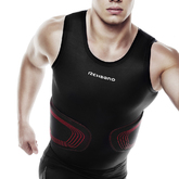 Rx Contact Tank Top, Black/Red, L
