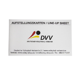 OFFIZIELLE DVV-AUFSTELLUNGSKARTEN (NATIONAL)