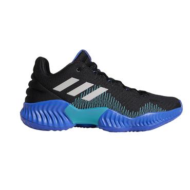 Adidas Pro Bounce 2018 Low Sportschuh Herren schwarzblau