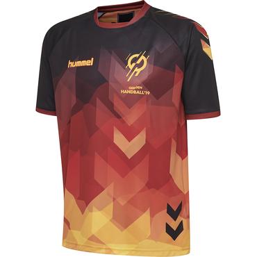 hummel Ihf deutschland kinder trikot handball wm 2019 schwarz 92c016291b