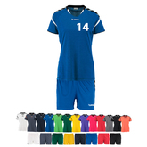 14ER SET AUTHENTIC CHARGE TRIKOT + HOSE DAMEN INKL. DRUCK UND BALL