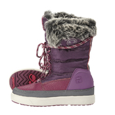 SNOW BOOT JR FUR LACE