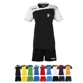 14ER SET EMOTION TRIKOT + SHORT DAMEN INKL. DRUCK UND BALL