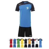 14ER SET EMOTION TRIKOT + SHORT KINDER INKL. DRUCK UND BALL