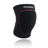 Rx Speed Knee JR, Black/red, M, 5 mm