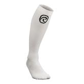 Rx Compression socks, White, M