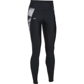 DAMEN LEGGINGS UA FLY-BY MIT AUFDRUCK